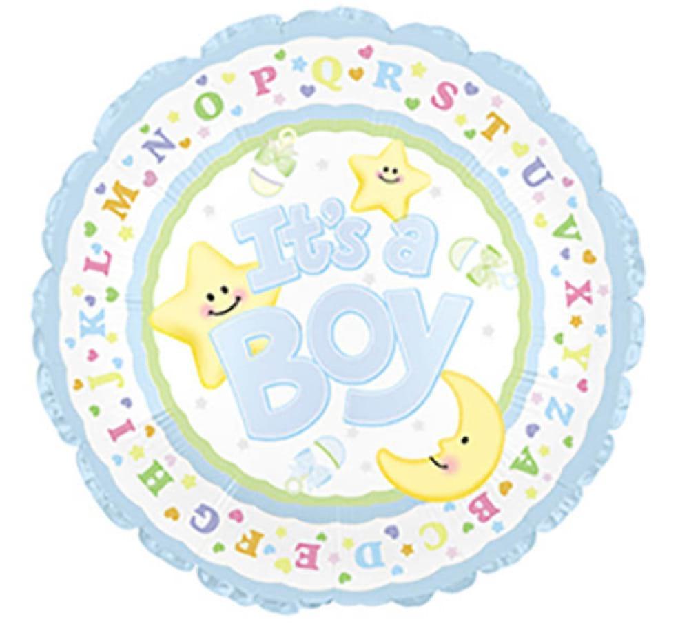 Helium Foil - It`s Boy!
