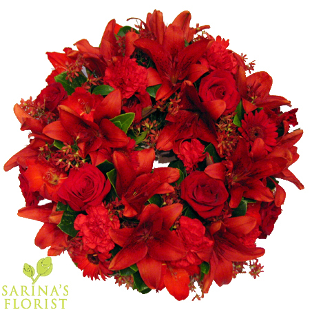 Wreath - Red