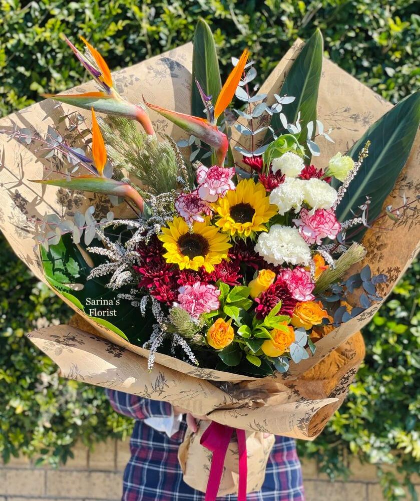 Brighten up bouquet