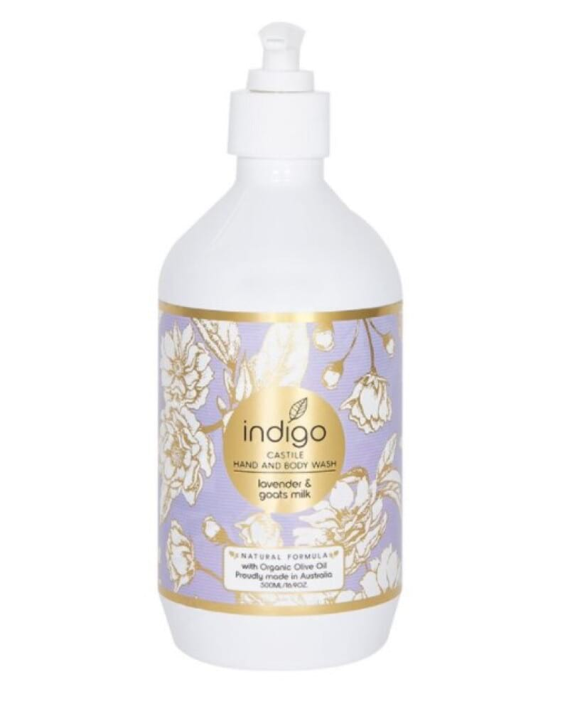 Organic Olive Oil Hand and Body Wash in Lavender and Goats Milk