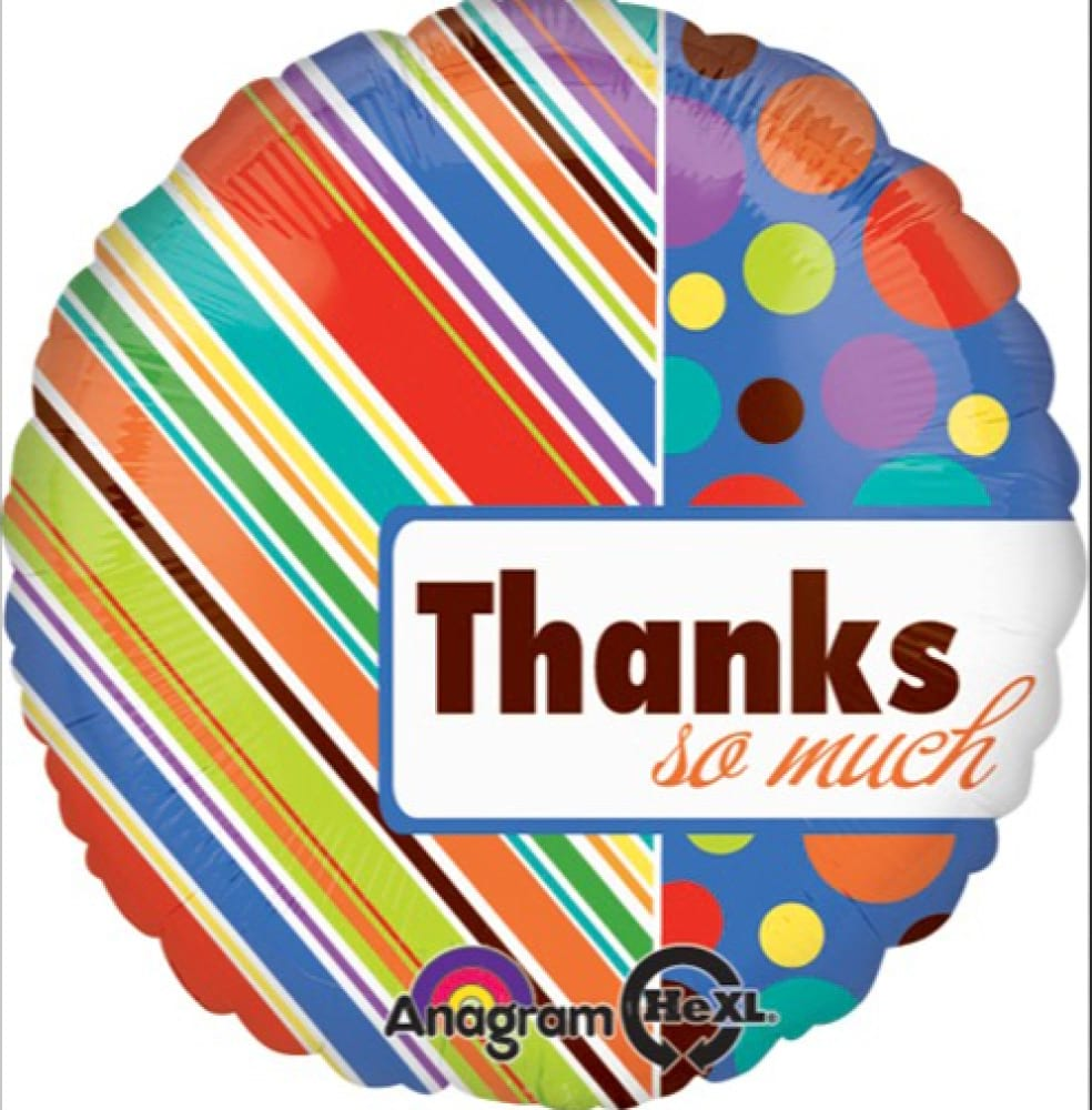 Helium Foil - Thank You!
