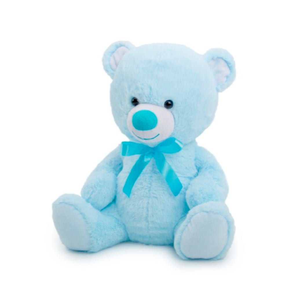 New blue teddy medium 30cm
