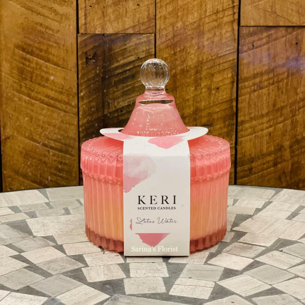 KERI scented candles - Lotus water (large)