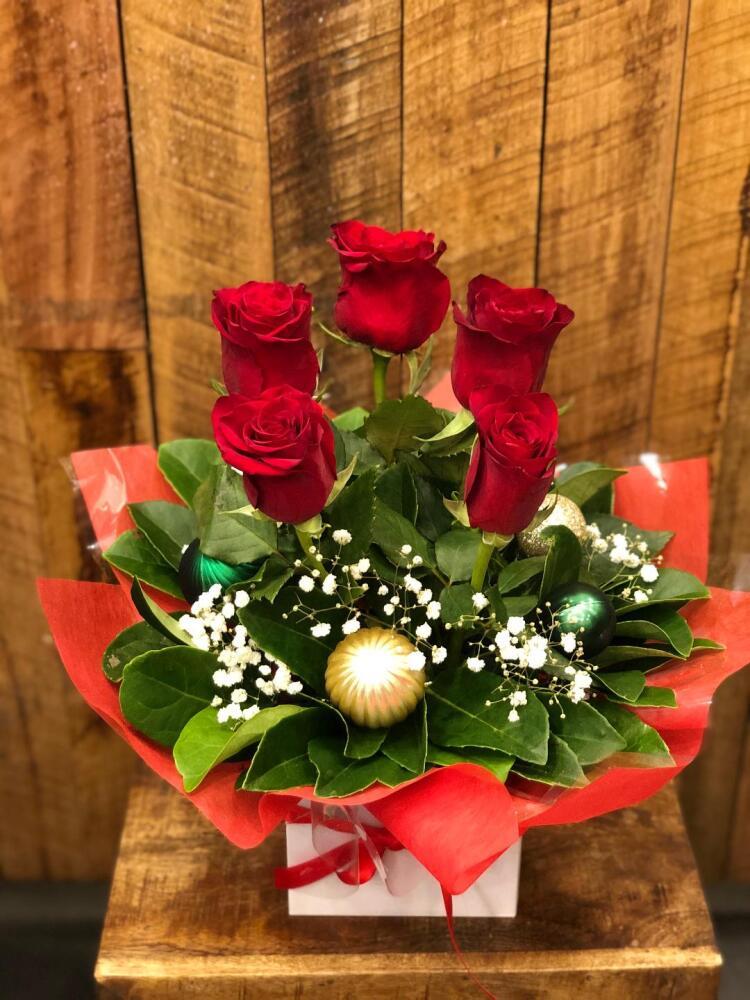 Christmas rose box