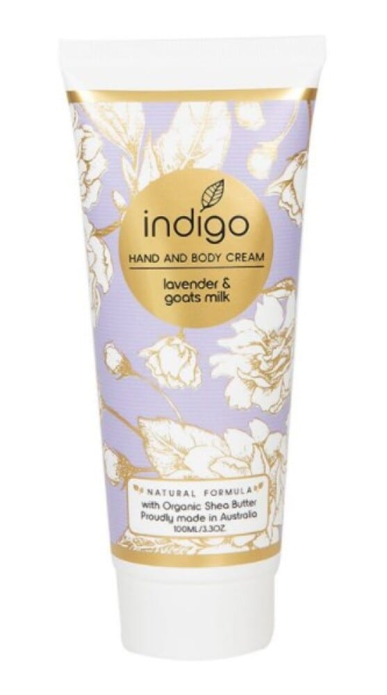 Organic Shea Butter Hand and Body Cream in Lavender & Goats Milk