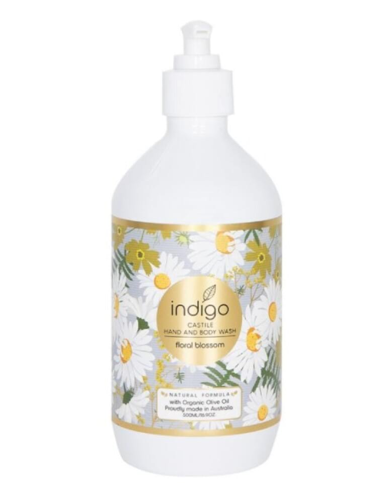 Organic Olive Oil Hand and Body Wash in Floral Blossom