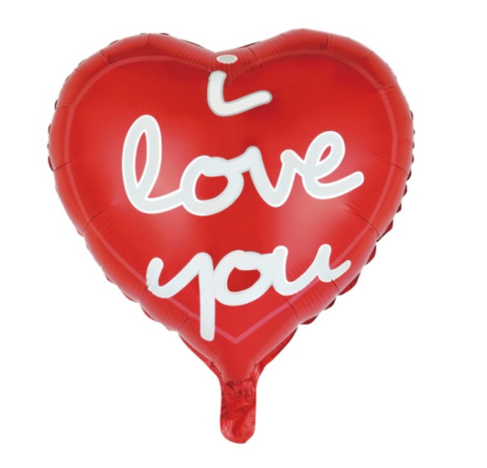 Helium Foil - I Love You!
