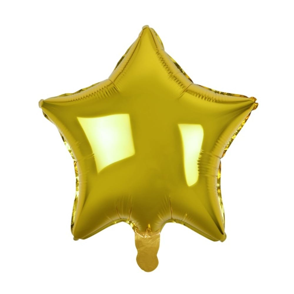HELIUM FOIL - Golden star