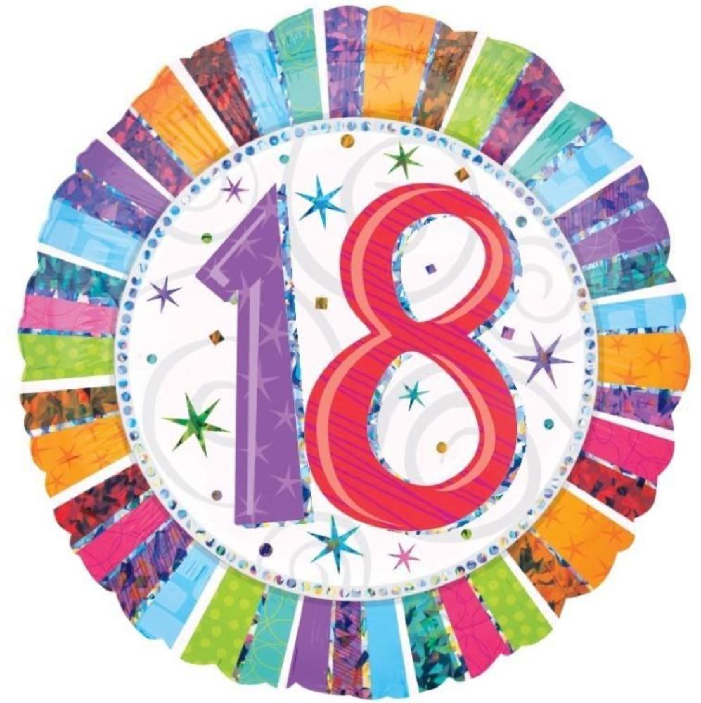 Helium Foil -Age`s  Birthday!