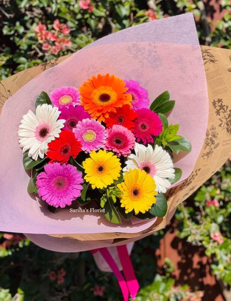 Happy Days Colourful Gerbera bouquet