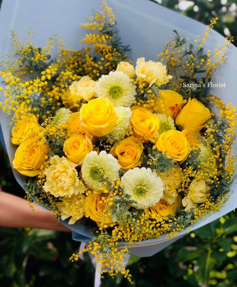Luxury gold bouquet