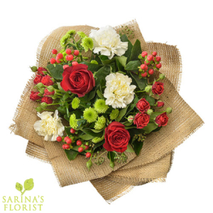 Deck the Halls - Christmas Bouquet