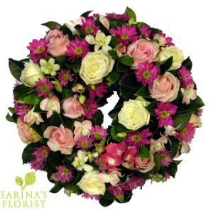 Wreath - pink