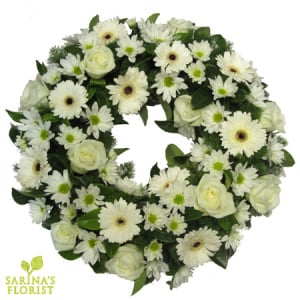 Wreath - white