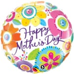 Air Stick Balloons - Happy Mother`s Day!