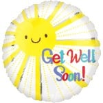 Helium Foil - Get Well Soon!